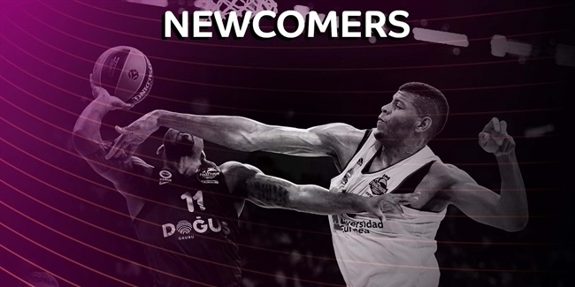 Top 10 newcomers of the 2017-18 EuroLeague season!
