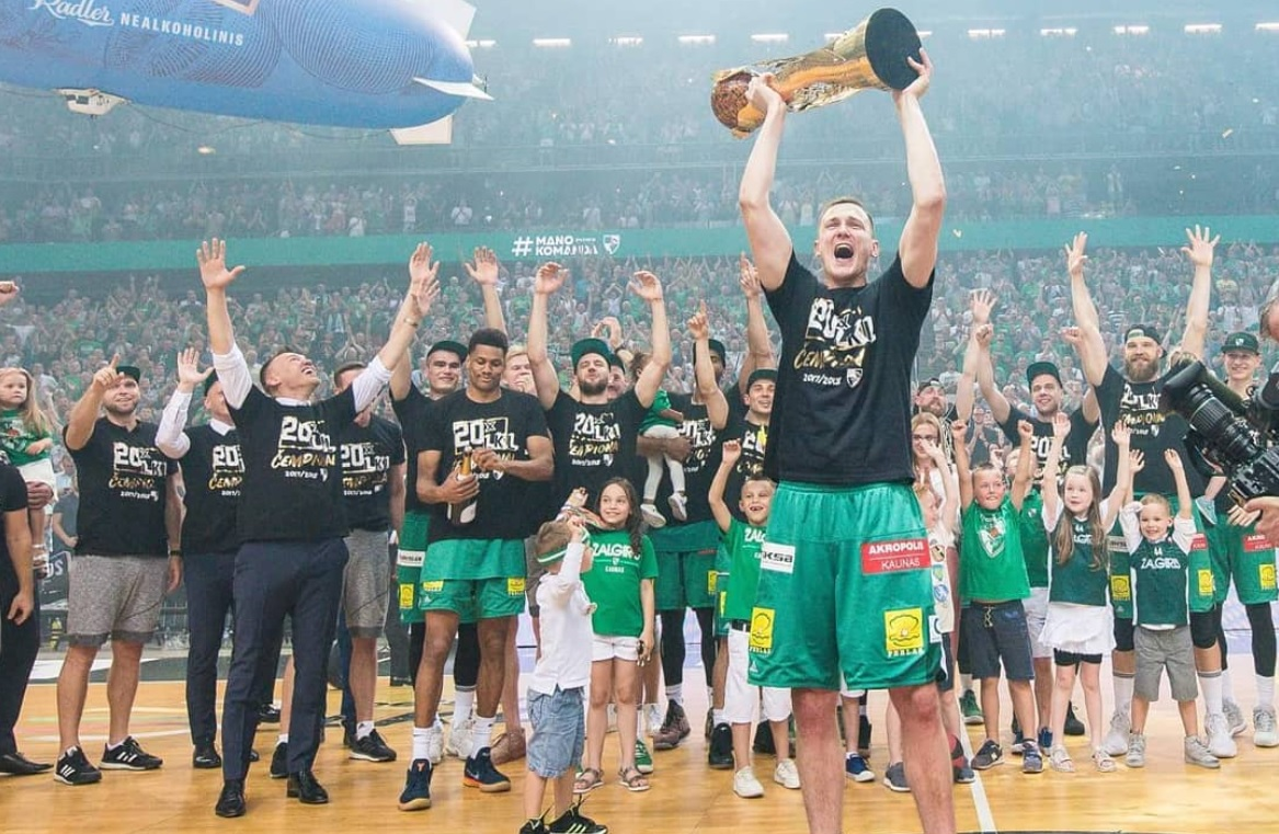 Zalgiris, Lithuanian champion (photo: Zalgiris)