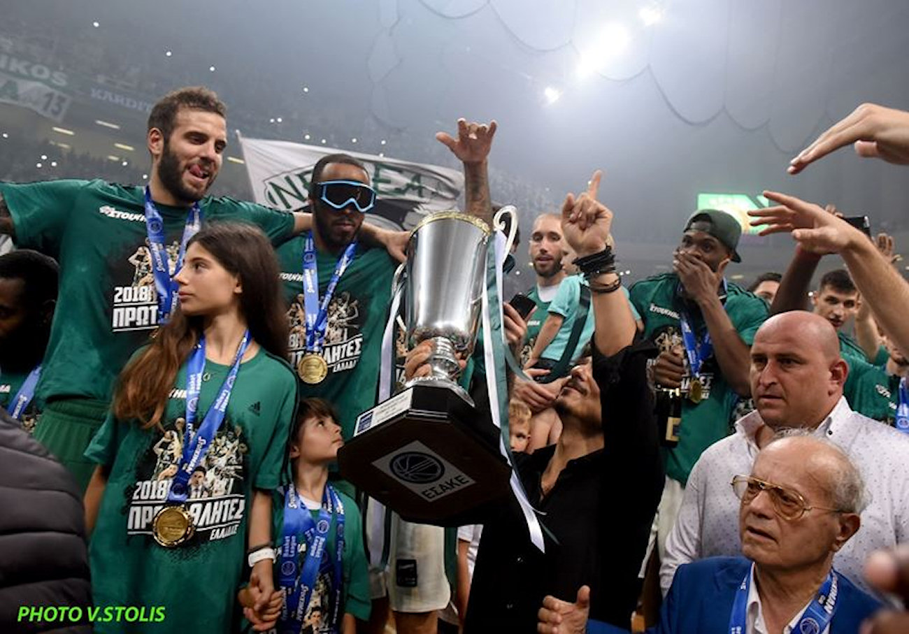 Panathinaikos champ Greek National League 2018 (photo V. Stolis)