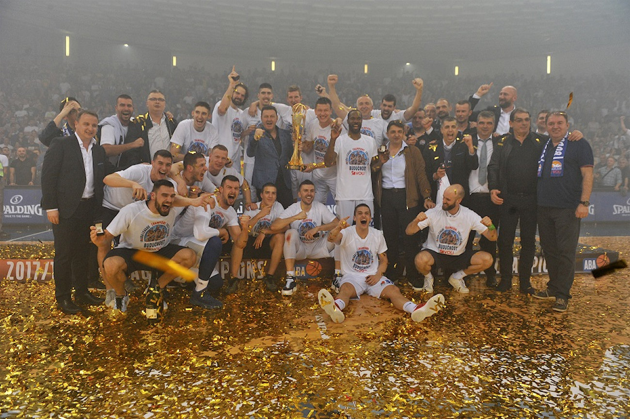 Buducnost champ ABA league 2018 (photo Buducnost)