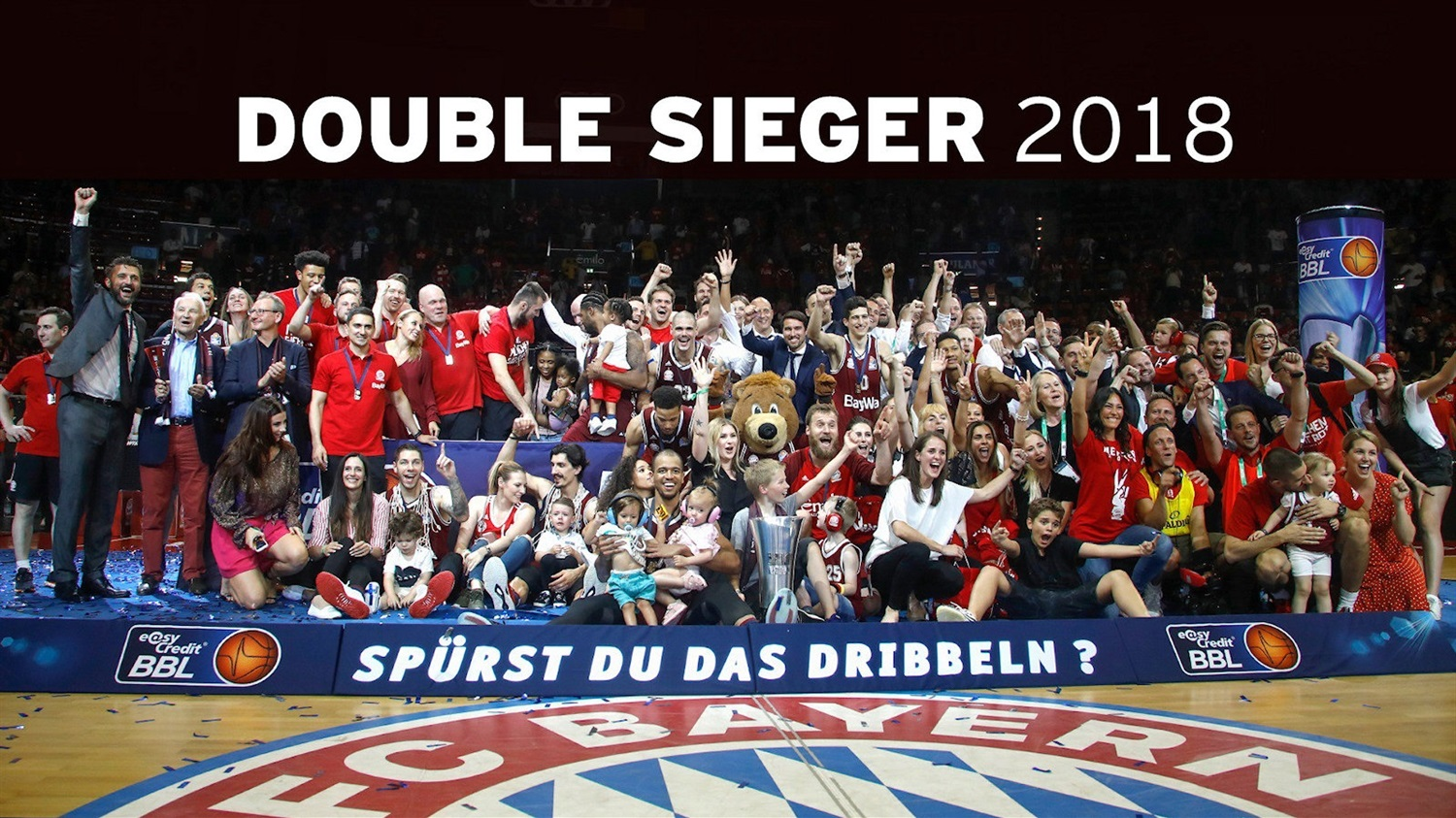 FC Bayern Munich champ BBL league 2018 (photo FCBB)