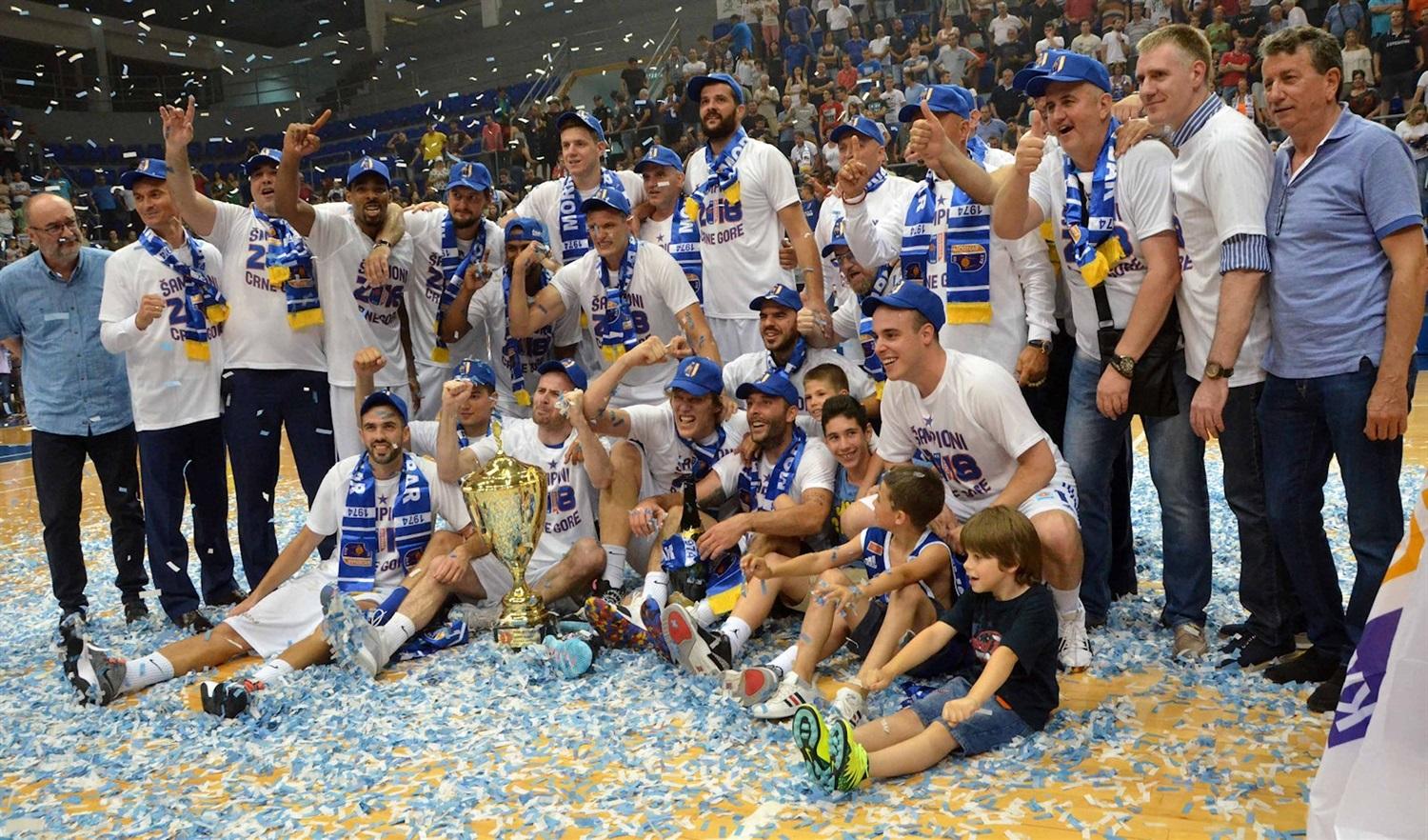 Mornar Bar champ Montenegrin league 2018 (photo Mornar Bar)