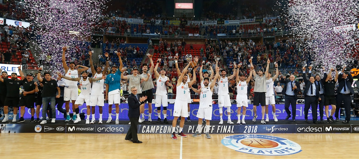 Real Madrid is 2018 ACB champion