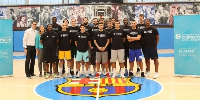 One Team session with star players tips off annual workshops