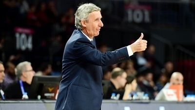 Coach Pesic enjoyed a special win