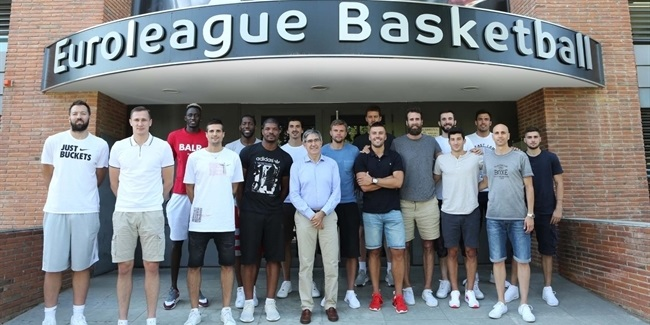EuroLeague stars help plan future at EB Institute Annual Workshops