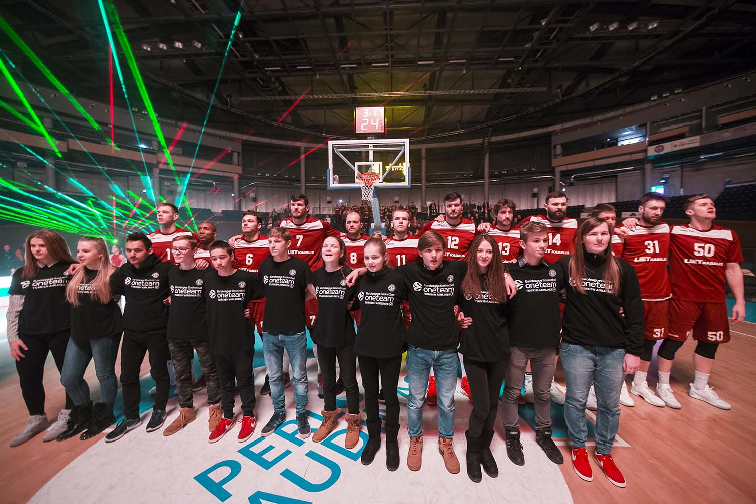 One Team, 2017-18 finalists