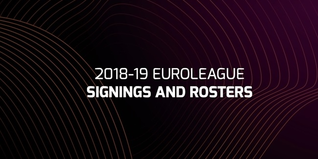 2018-19 Turkish Airlines EuroLeague signings and rosters