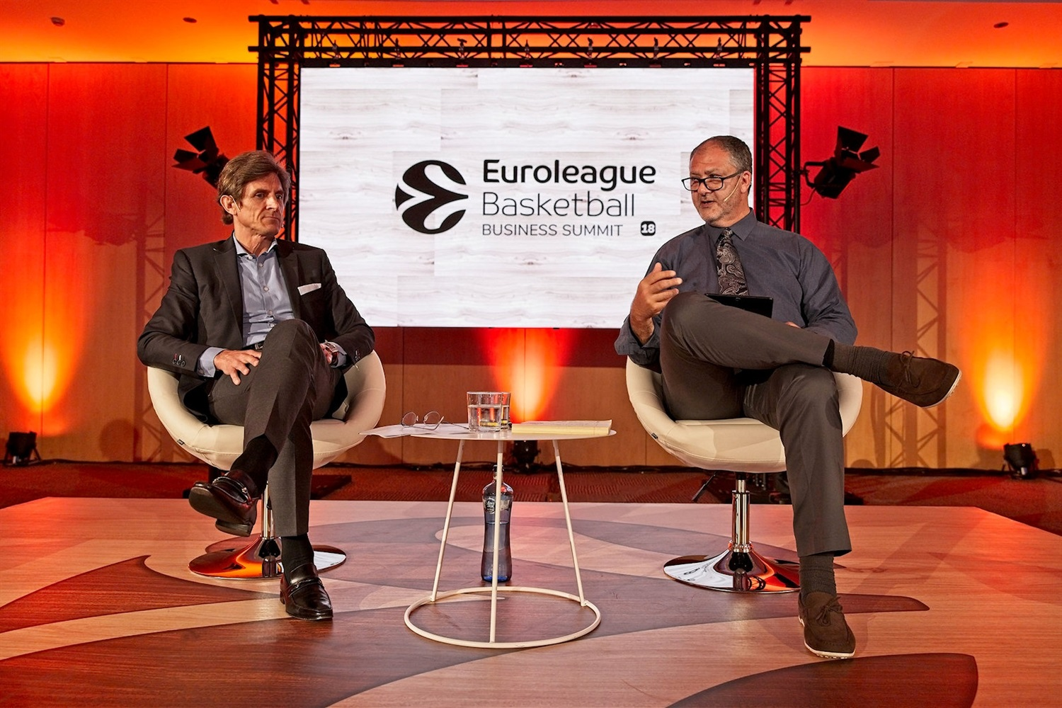 Frederic Longuepee and Marshall Glickman - EB Summit Barcelona 2018 - EB18