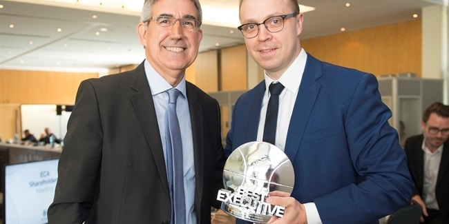 Zalgiris's Paulius Motiejunas is EuroLeague Executive of the Year