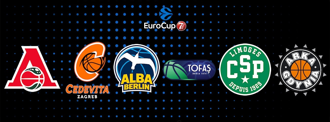 2018-19 7DAYS EuroCup Regular Season: Group B at a glance