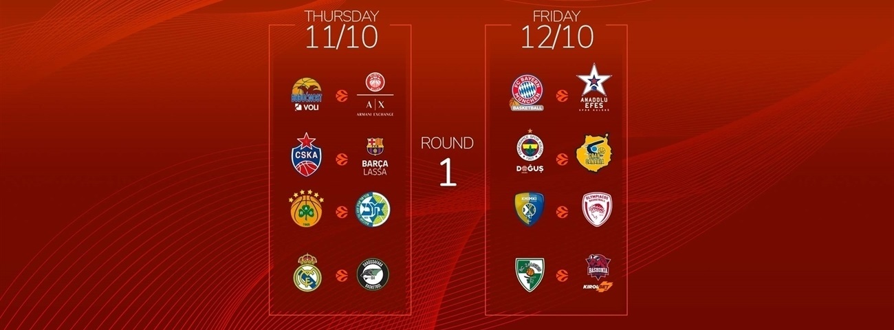 Euroleague Calendario.2018 19 Calendar Packed With Must See Games News Welcome To