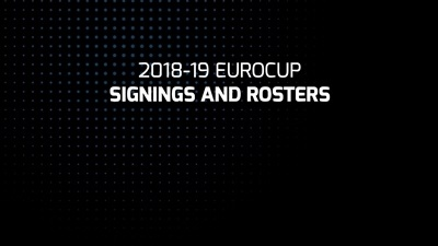 2018-19 7DAYS EuroCup signings and rosters