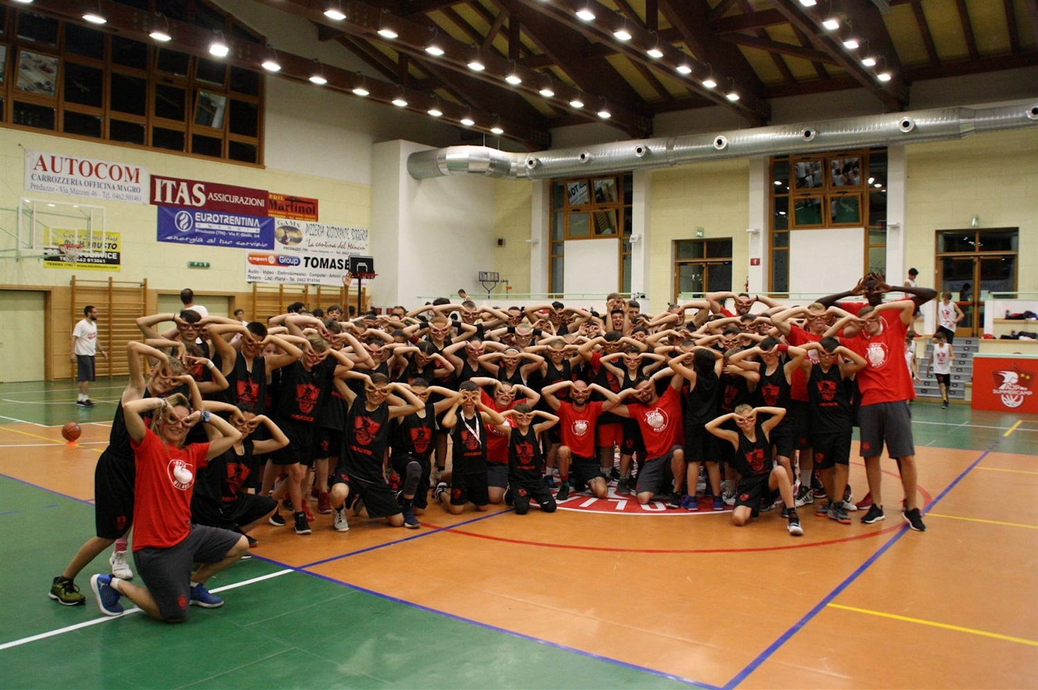AJP Summercamp Milan (photo AX Milan) - EB18