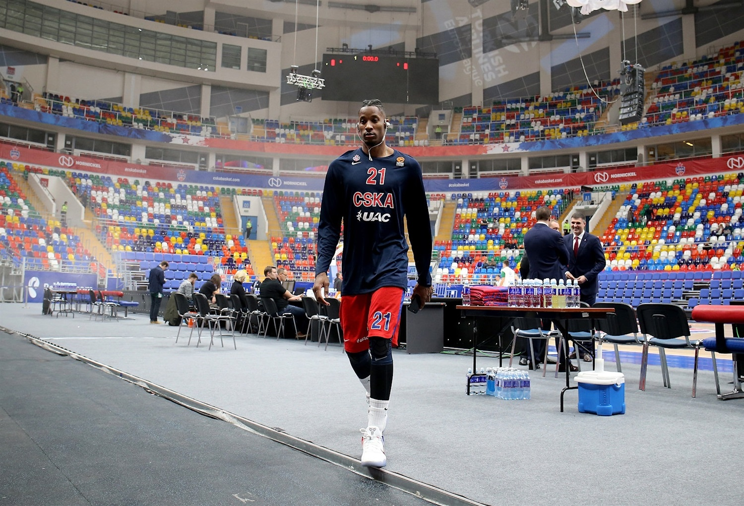 Will Clyburn in Megasport Arena - CSKA Moscow - EB17