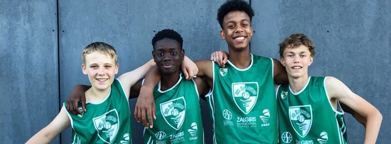 Zalgiris camps teach basketball at home and in Denmark