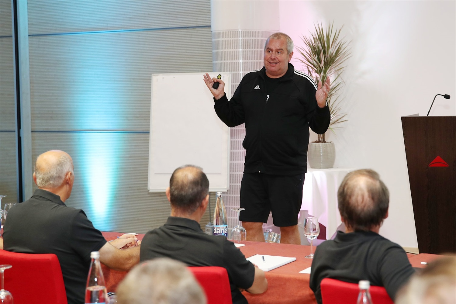 Richard Stokes - 27th Clinic for Euroleague Basketball Officials, Ljubljana 2018