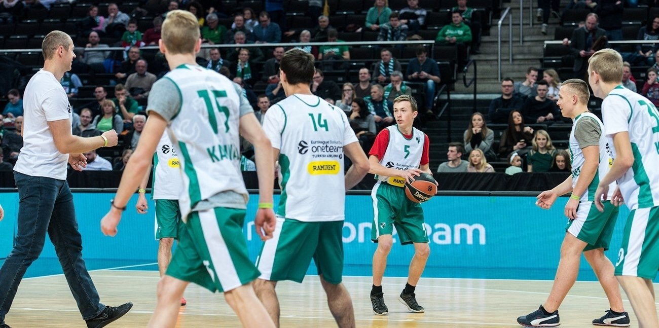 Arturas - One Team Zalgiris (photo Zalgiris Kaunas)