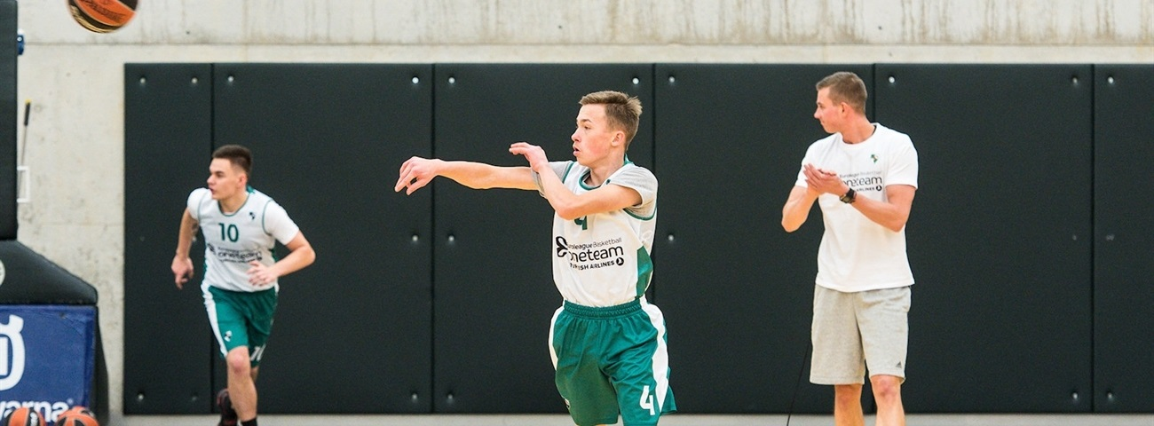 Arturas makes positive choices through One Team Zalgiris