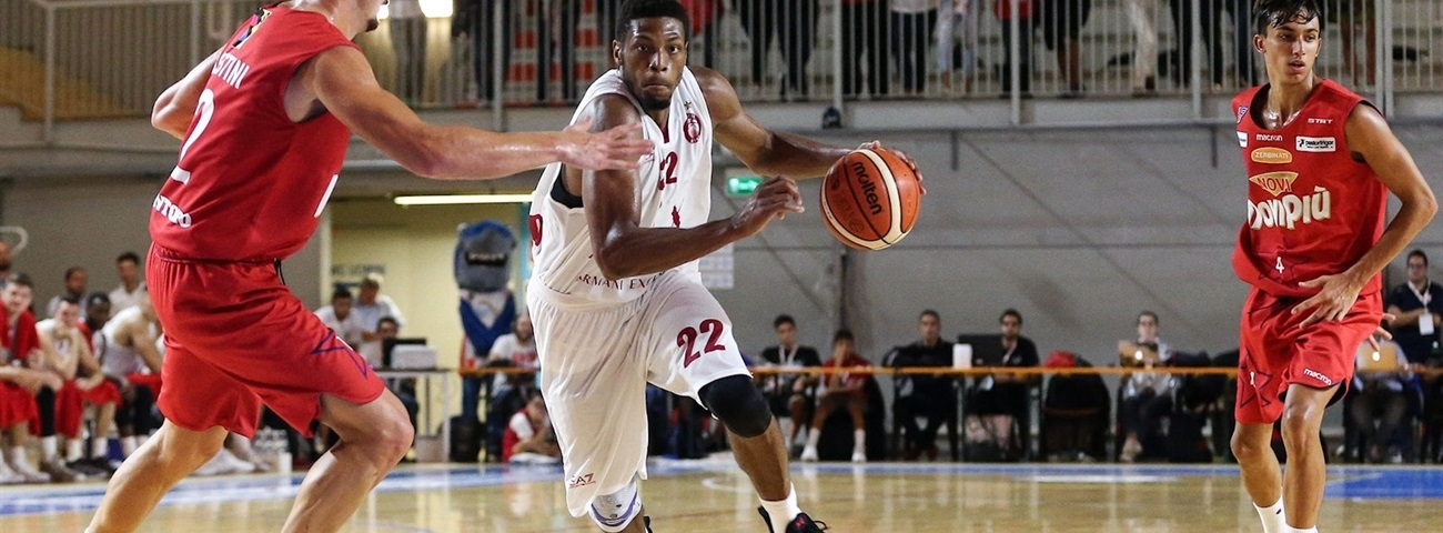 Jeff Brooks, AX Milan: 'It is really nice to be back in Italy'