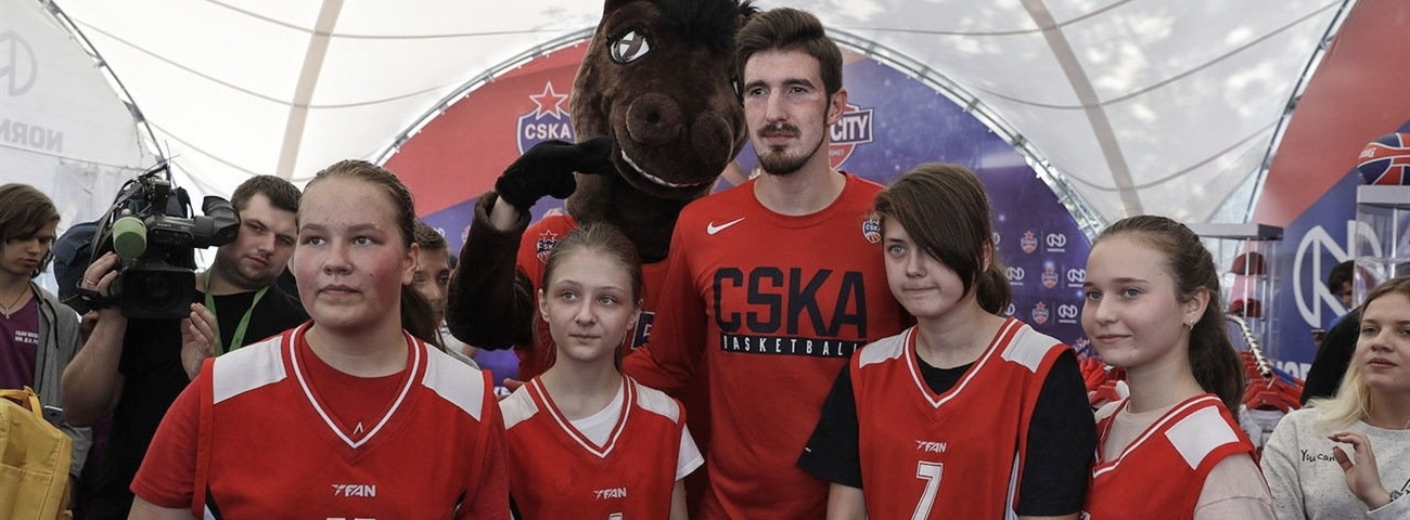 CSKA City Streetball tourney brings fans, players together
