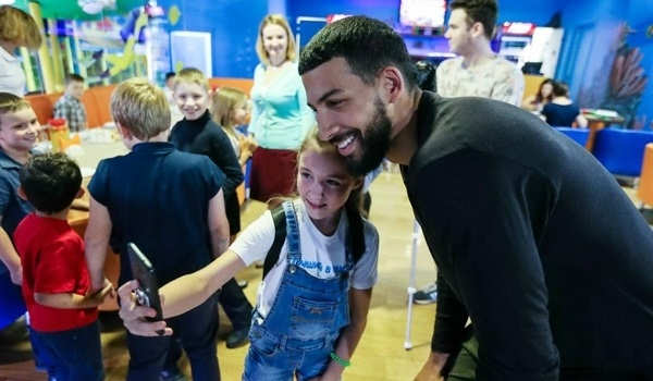 "Blog, Anthony Gill: ""I want to make sure that I make people smile"""