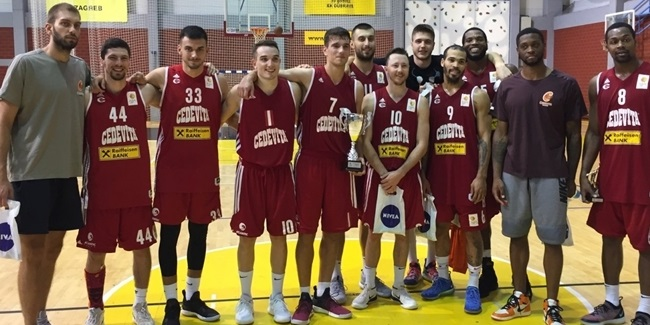 7DAYS EuroCup preseason: Cedevita captures Dubrava Cup