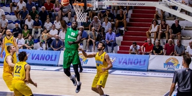 Turkish Airlines EuroLeague preseason: Darussafaka easies to win in Italy