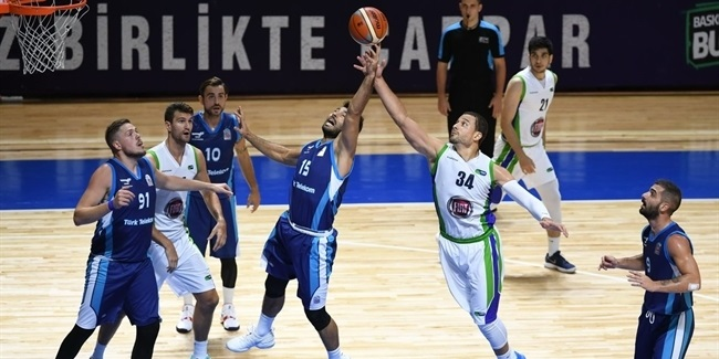 7DAYS EuroCup preseason: Turk Telekom edges Tofas in overtime drama