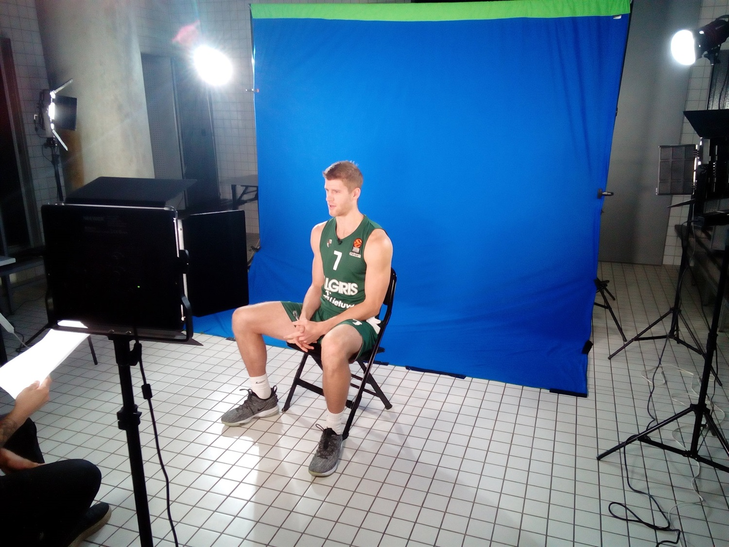 Thomas Walkup - Zalgiris Kaunas Media Day 2018 - EB18