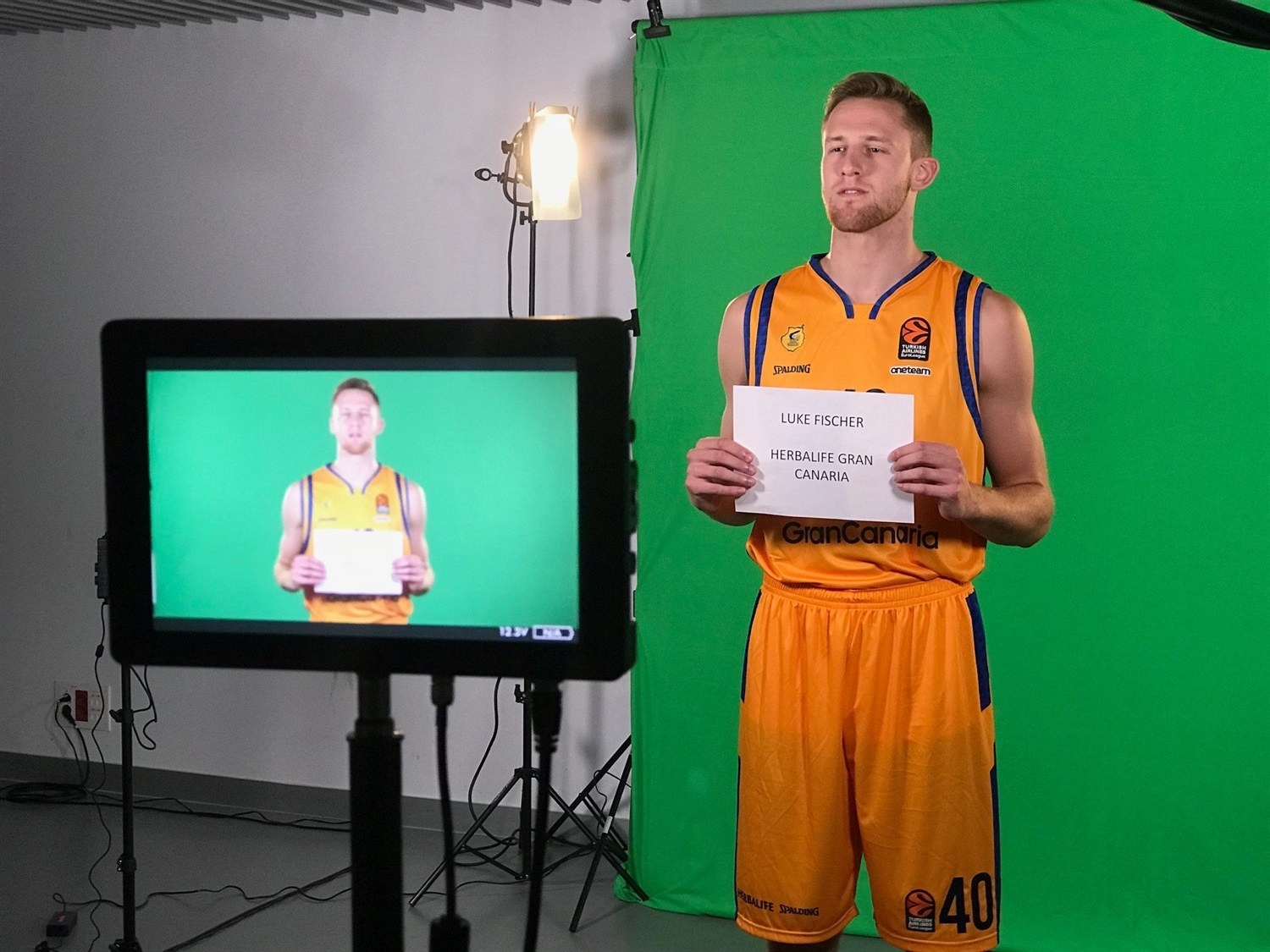 Luke Fischer - Herbalife Gran Canaria Media Day 2018 - EB18