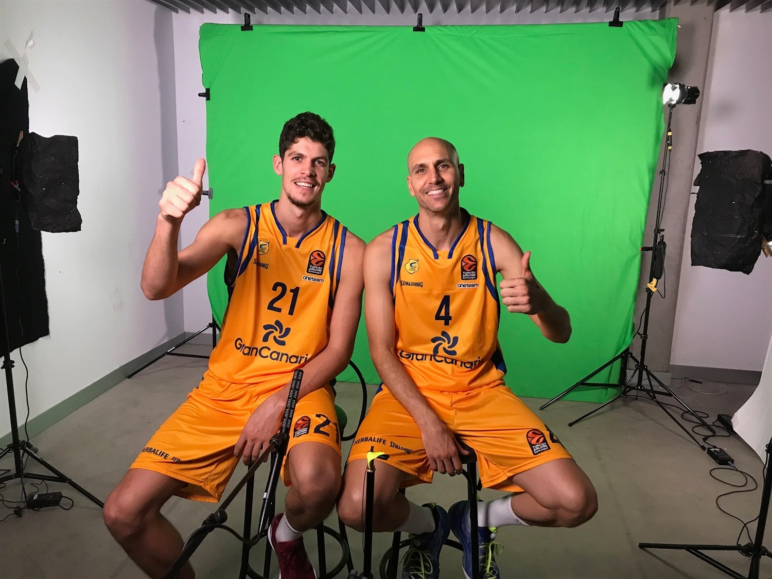 Oriol Pauli and Albert Oliver - Herbalife Gran Canaria Media Day 2018 - EB18