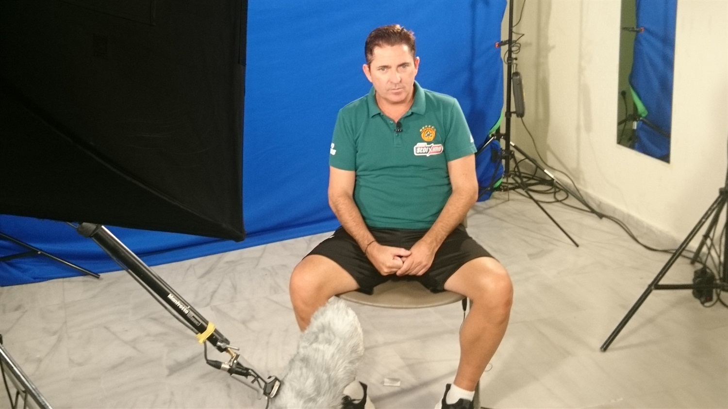 Xavi Pascual - Panathinaikos OPAP Athens Media Day 2018 - EB18