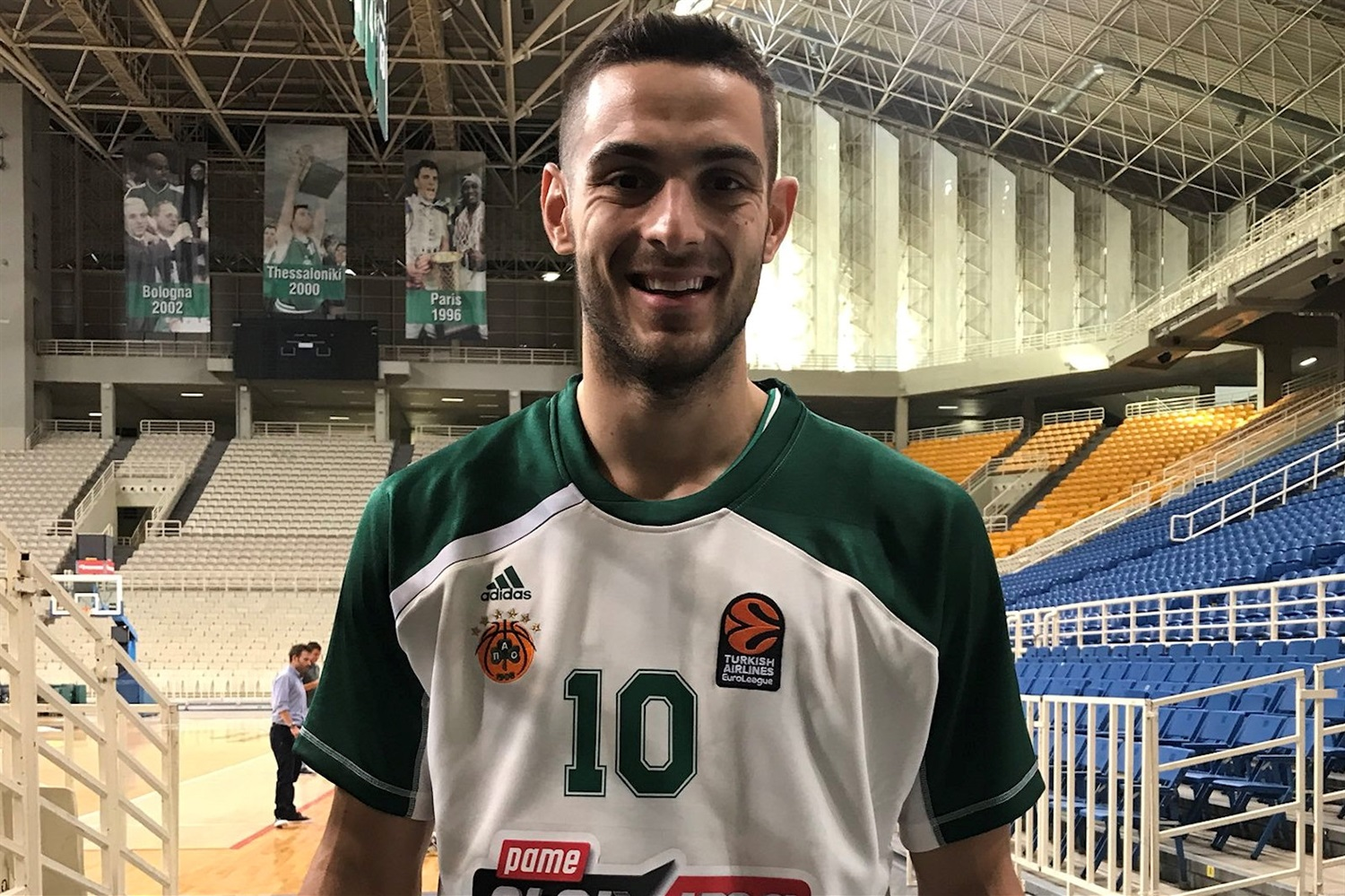 Ioannis Papapetrou - Panathinaikos OPAP Athens Media Day 2018 - EB18