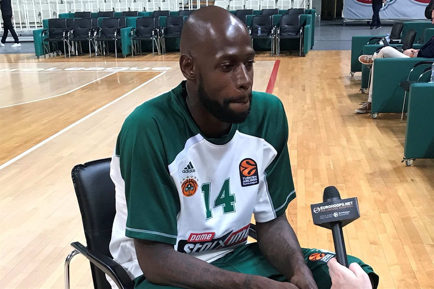 James Gist - Panathinaikos OPAP Athens Media Day 2018 - EB18