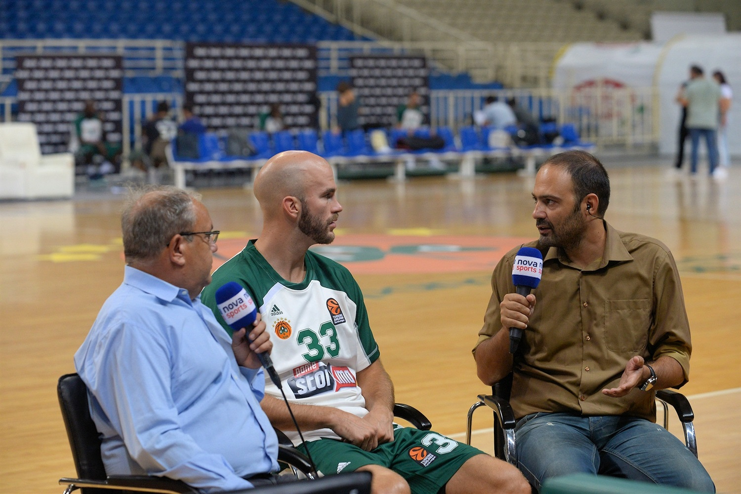 Nick Calathes - Panathinaikos OPAP Athens Media Day 2018 - EB18