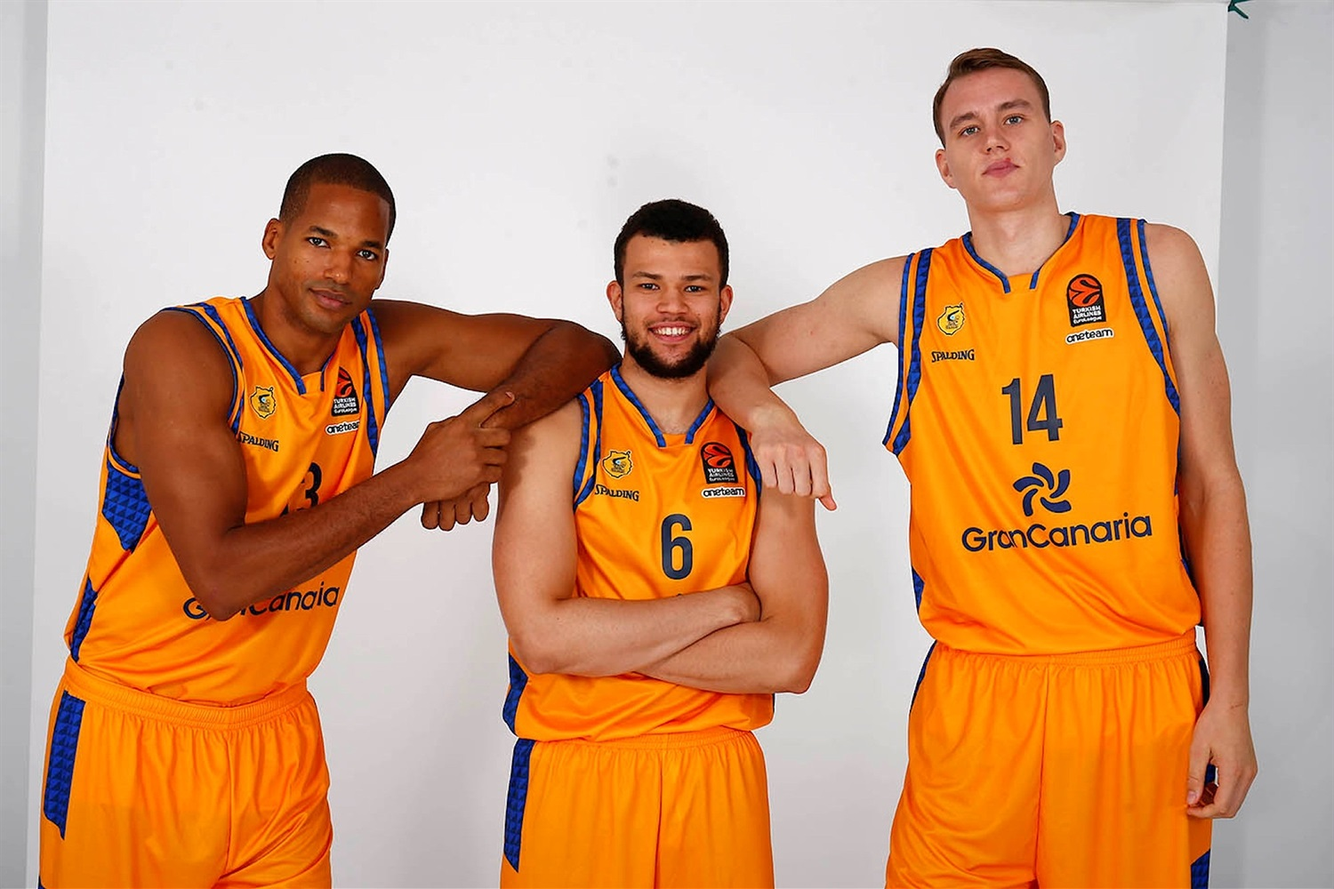 Baez, Nelson and Pasecniks - Herbalife Gran Canaria Media Day 2018 - EB18