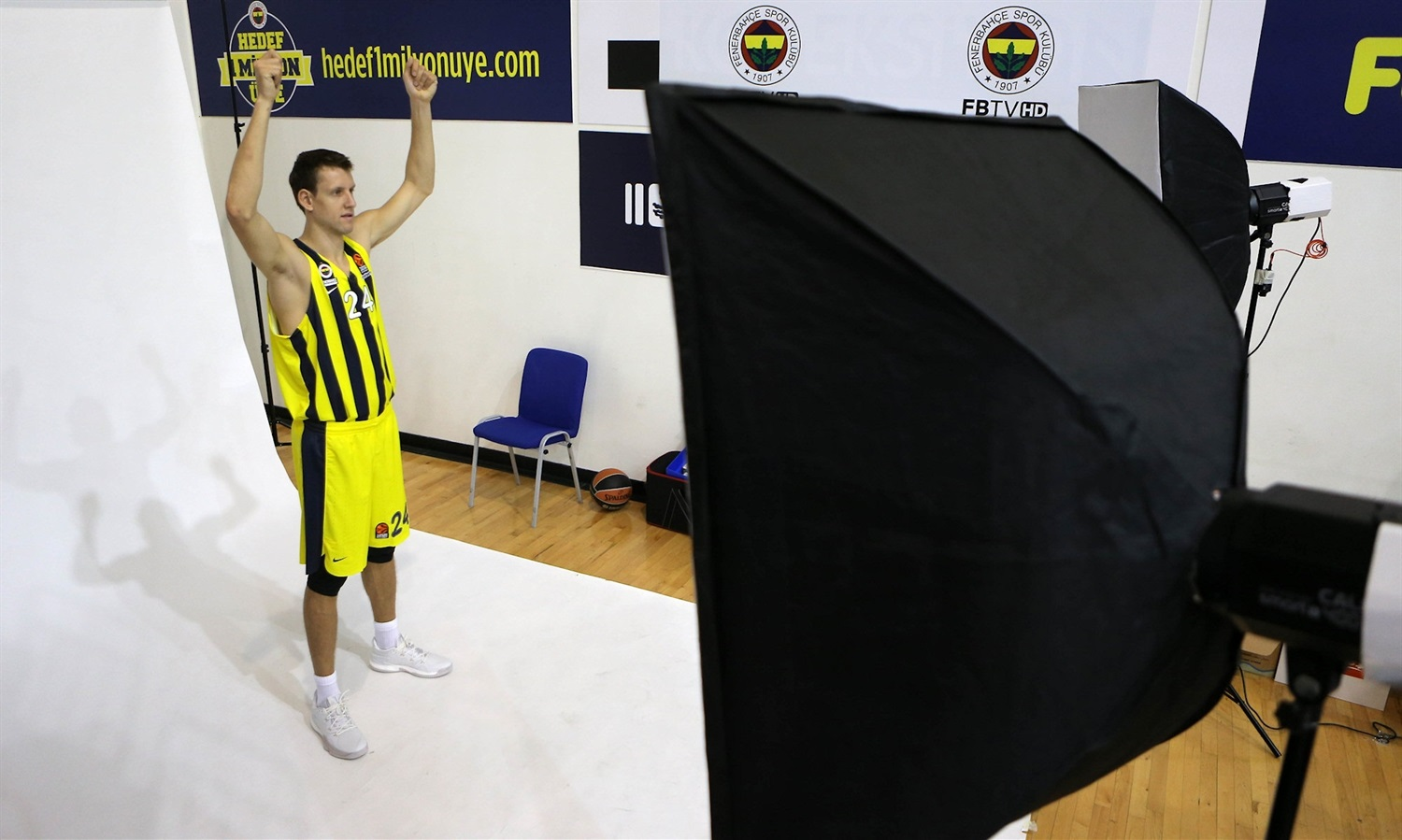 Jan Vesely - Fenerbahce Istanbul Media Day 2018 - EB18