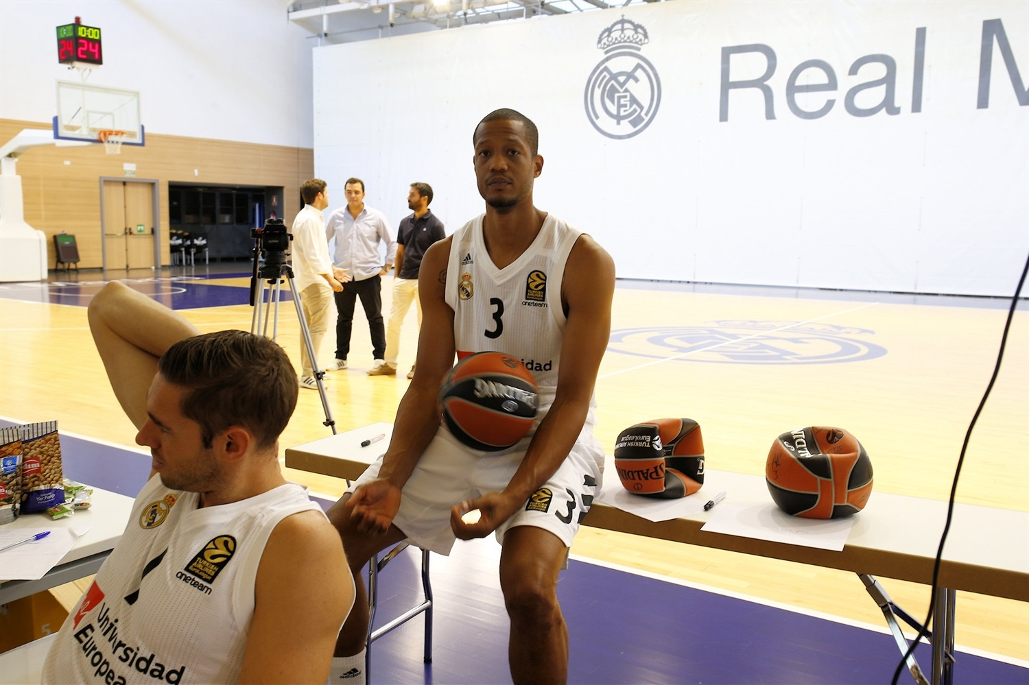 Anthony Randolph - Real Madrid Media Day 2018 - EB18