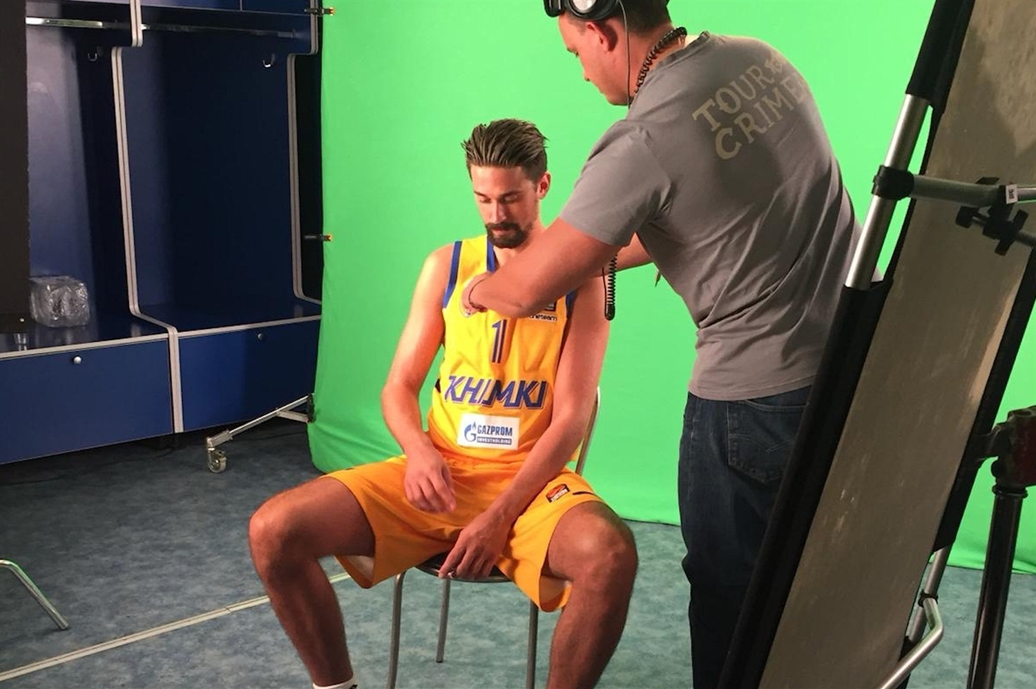Alexey Shved - Khimki Moscow Region Media Day 2018 - EB18