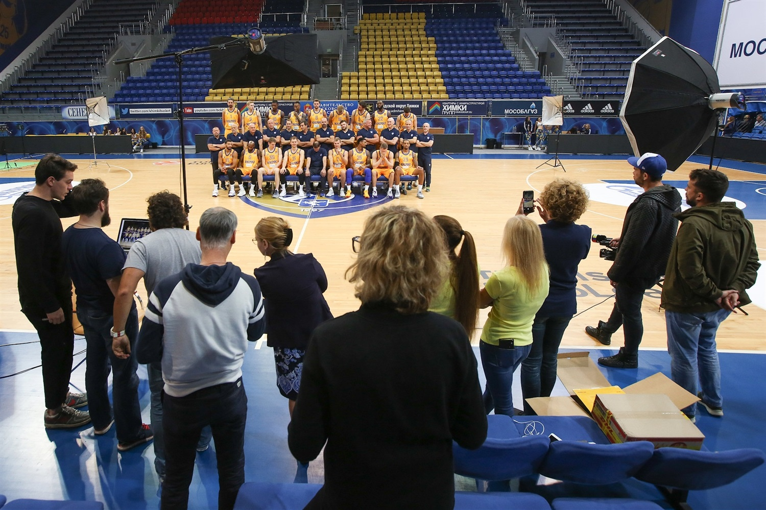 Khimki Moscow Region Media Day 2018 - EB18