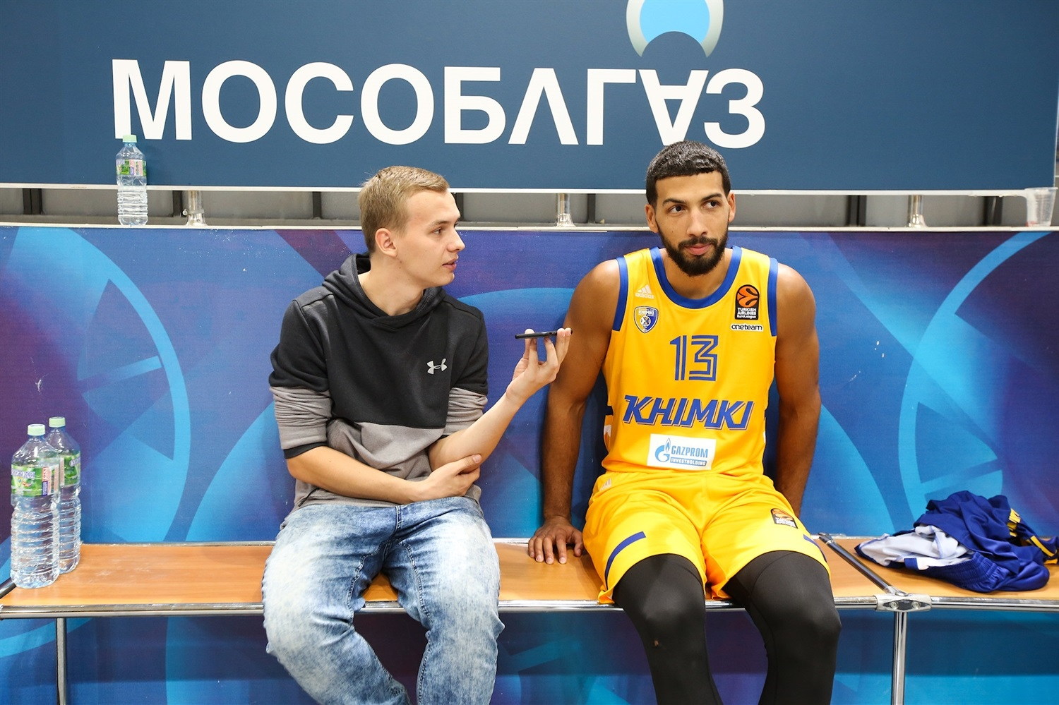 Anthony Gill - Khimki Moscow Region Media Day 2018 - EB18