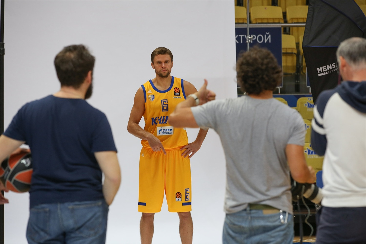Egor Vialtsev - Khimki Moscow Region Media Day 2018 - EB18