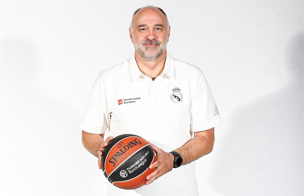 Pablo Laso - Real Madrid Media Day 2018