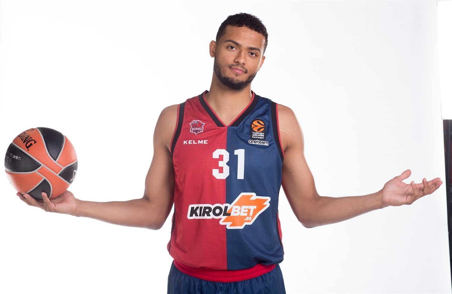 Shavon Shields - KIROLBET Baskonia Vitoria Gasteiz Media Day 2018 - EB18
