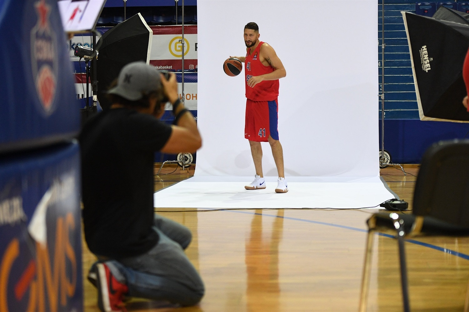 Nikita Kurbanov - CSKA Moscow Media Day 2018 - EB18