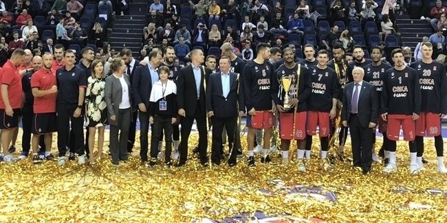 Turkish Airlines EuroLeague preseason: CSKA and Milan win trophies