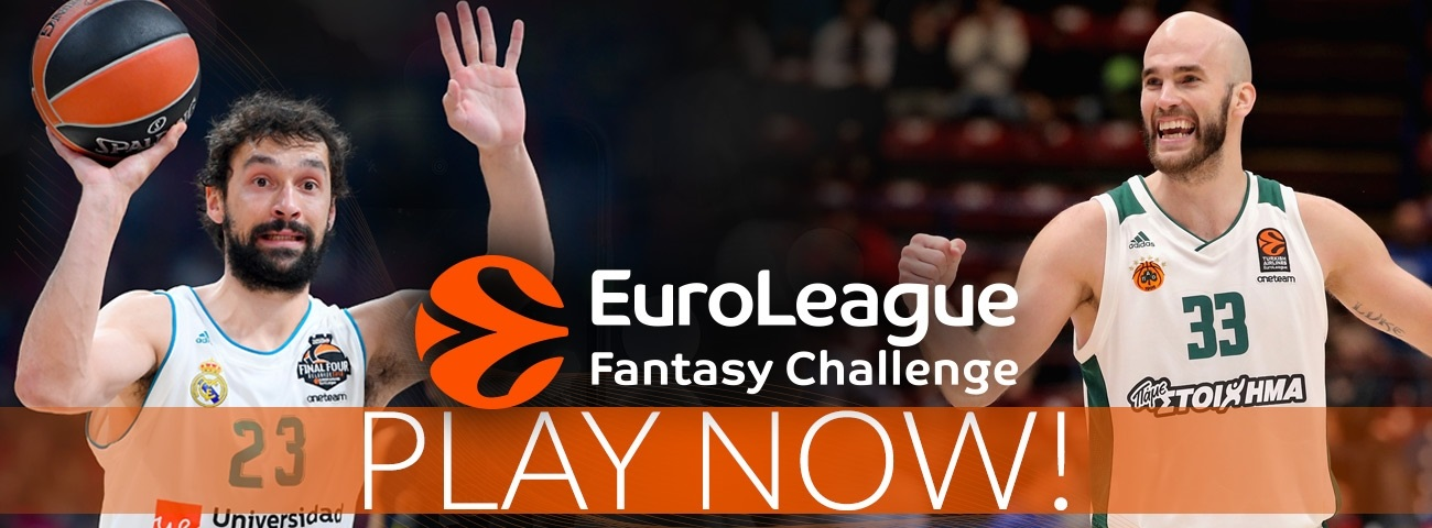 EuroLeague Fantasy Challenge returns for a 15th season!