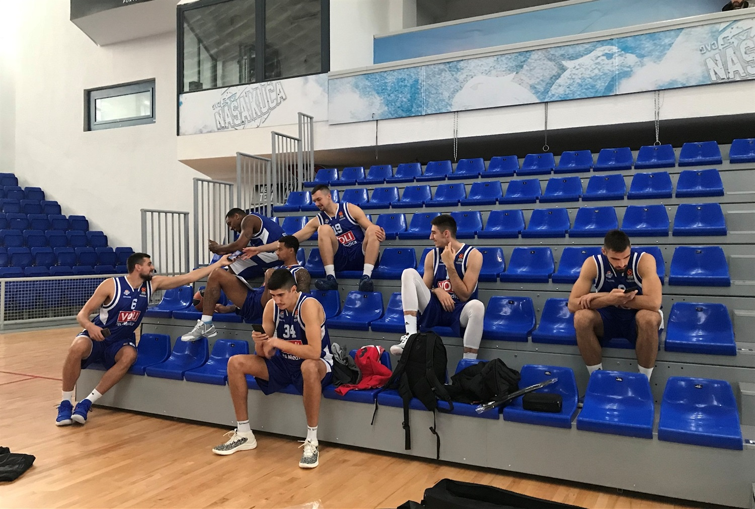 Players Buducnost VOLI Podgorica Media Day 2018 - EB18