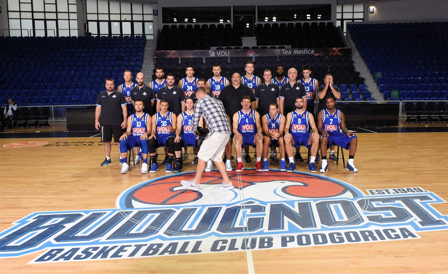 Buducnost VOLI Podgorica Media Day 2018 - EB18